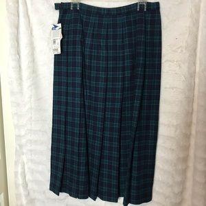 NWT Womens Pendleton Wool Skirt